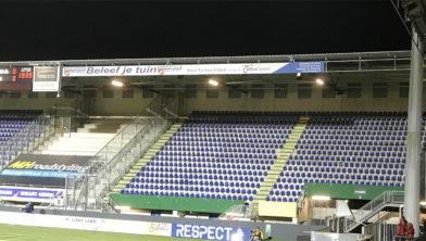 ... uitvak stadion Fortuna Sittard blijft zaterdag leeg ...