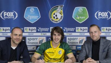 V.l.n.r. algemeen directeur Ivo Pfennigs, Andrija Balic en technisch manager Sjoerd Ars