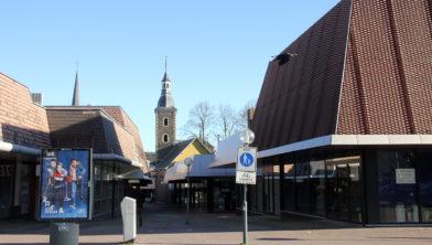 Torentje van het Gruizenkerkje in winkelcentrum Den Tempel