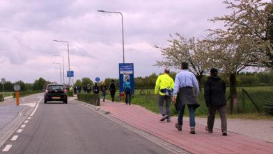 ... de laatste kilometers ...