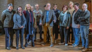 De kunstenaars die hun werk exposeren tijdens de Interlimburgse Kunstfietsdagen