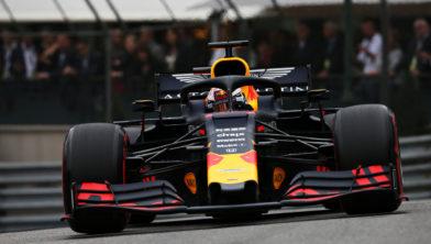 Max Verstappen, eerste vrije training Monaco 2019