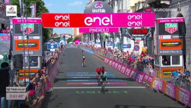 Finish twaalfde etappe Giro d'Italia