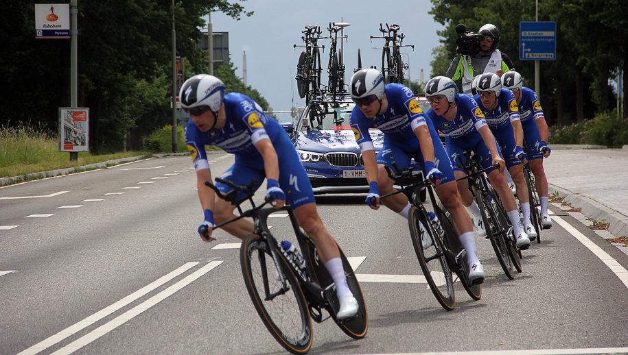 De winnaar: Deceuninck/Quick-Step