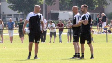 Kristof Aelbrecht, Kevin Hofland en Sjors Ultee (juni 2019)
