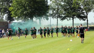 Eerste training 2019 op veld Walburgia