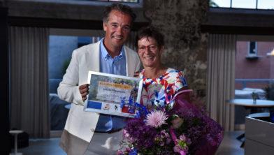 Voorzitter Tour Culinair Richard Francke en Rosalie Theunissen
