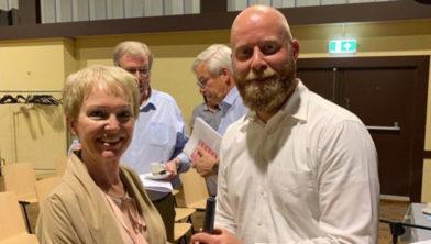 Dorine Schols en Stefan Ochse