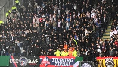 Stewards van Willem II belaagd door eigen supporters