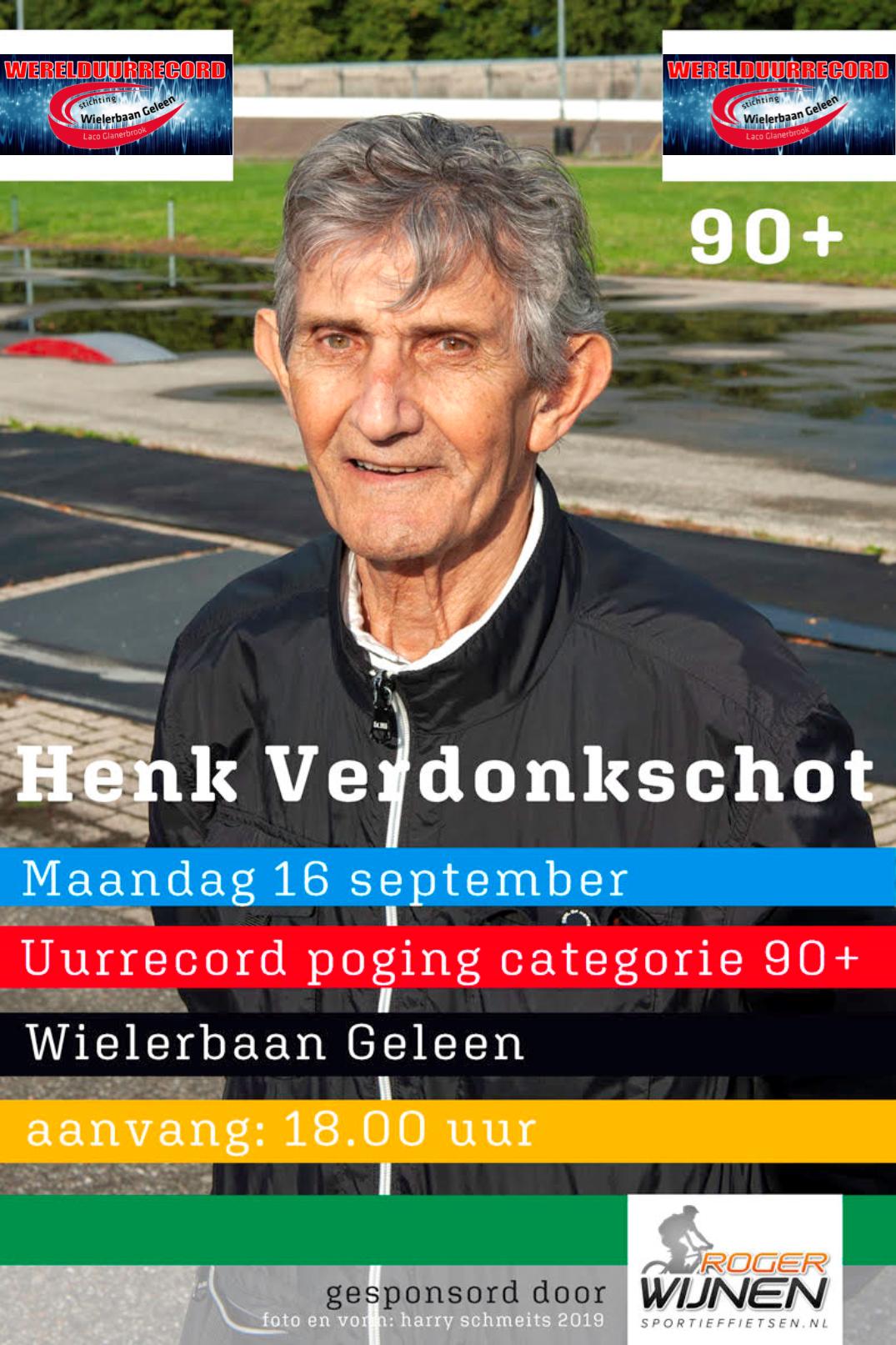 uurrecord 90-plus Henk Verdonkschot