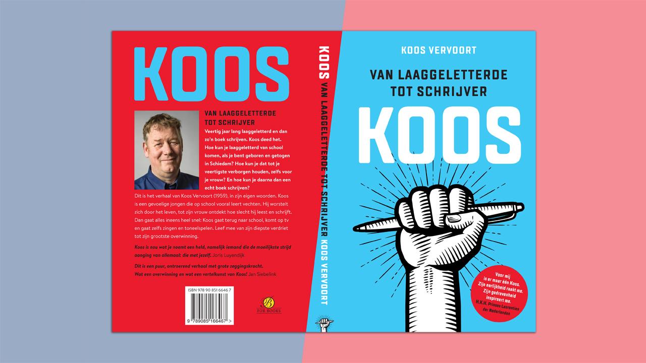 KOOS – van laaggeletterde tot schrijver