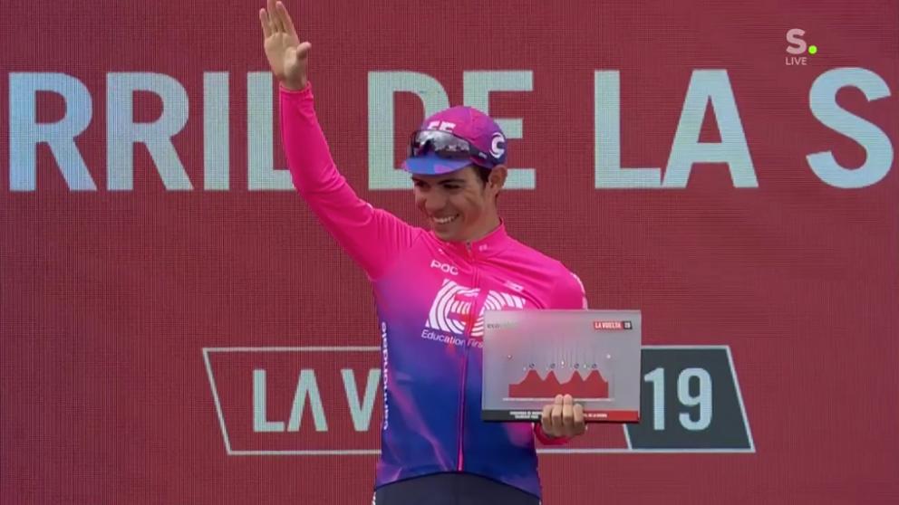Higuita wint 18e etappe Vuelta, Roglic behoudt de rode trui
