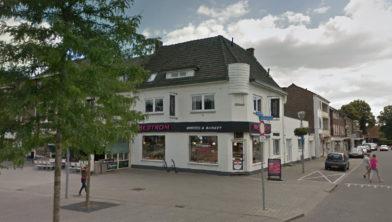Filiaal bakkerij Mestrom aan de Bloemenmarkt in Geleen Lindenheuvel