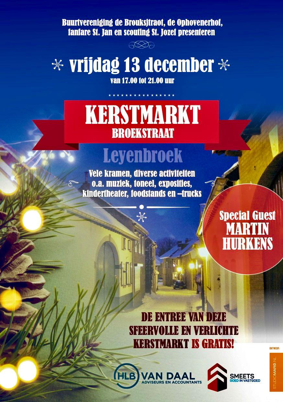 Kerstmarkt Broekstraat Sittard