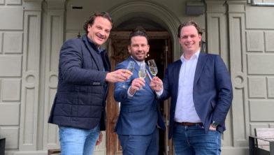<em>V.l.n.r. Marco Geurten, Jorrit van Melick en Martin Hendricks</em>