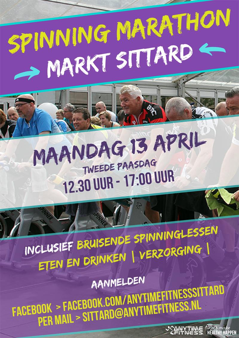 spinning marathon Hartje Stad
