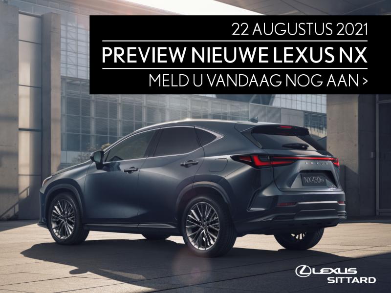 Teaser Lexus Sittard Preview nieuwe Lexus NX 1200x900