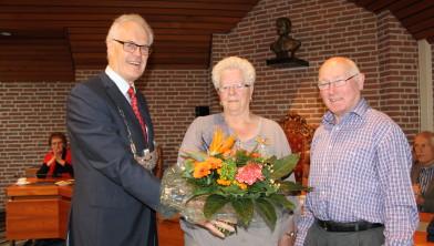 Gré Vos-Van Dalen en haar echtgenoot