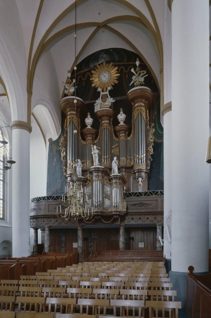 Orgel in de Grote Kerk te Elburg