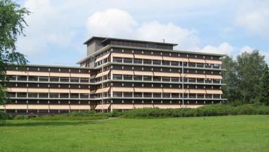 Het provinciehuis van Drenthe in hoofdstad Assen
