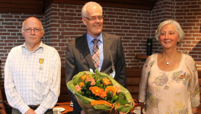 Henk Luten en Klaasje Huisman Koninklijk onderscheiden in 2014