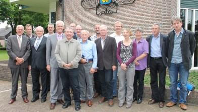 Ruilverkavelingscommissie Staphorst-Reestdal op 21 juni 2012