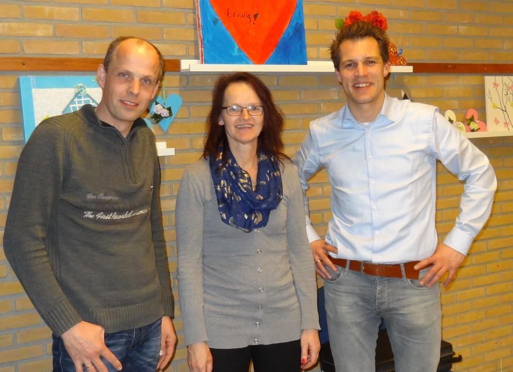 Nieuwe bestuursleden Oranjevereniging Staphorst
