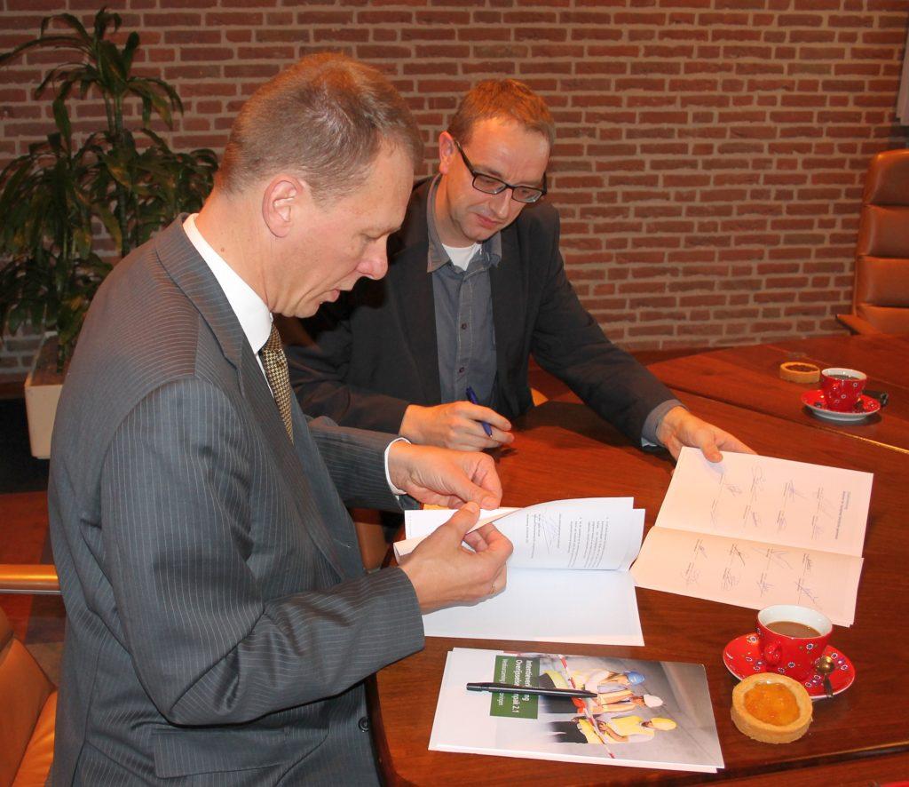 ondertekening energieakkoord