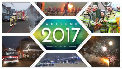 Veiligheidsregio IJsselland wenst u allen een gelukkig en veilig 2017!