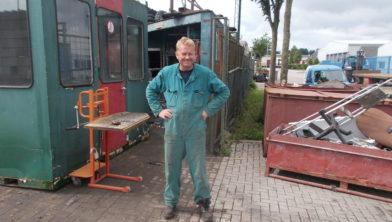 Albert Talen, eigenaar van het gelijknamige recyclingbedrijf