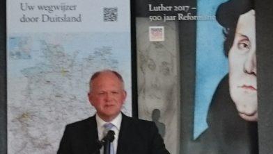 Prof. Selderhuis presenteert Lutherbiografie op 4 juli 2016