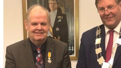Arie van de Pol koninklijk onderscheiden op 27 maart 2018