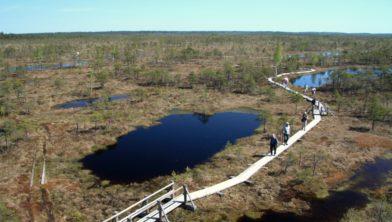 Nationaal park Ķemeri in Letland