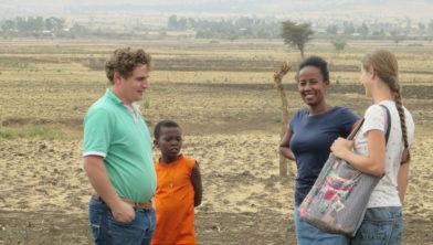 Bezoek bestuurslid aan Ethiopië in 2015