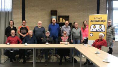 Groepsfoto vrijwilligers Automaatje kort voor de start op 17 december 2019