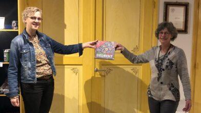 Greetje Janssen en Betty Hoogeveen