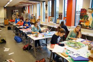 atelierdag leeuwenhorst college1