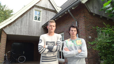 Sjoerd en Wessel Grobbink