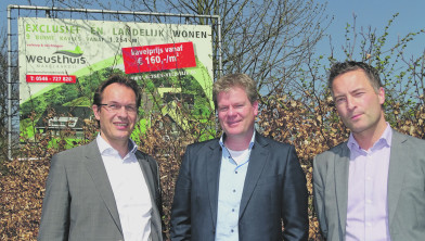 Luc Weusthuis, Thomas Perik en Robert Jan Bulthuis. Leon Woertman ontbreekt