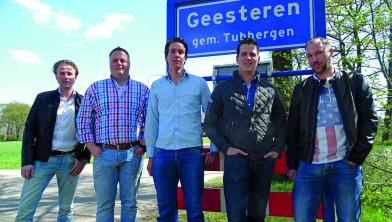 Tom Linneman, Roy Paus, Leon Kroeze, Robin Kock, Marc Oude Wesselink