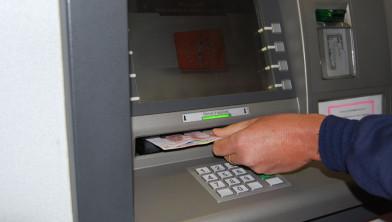 Geldautomaat van de Rabobank