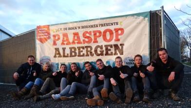 Een deel van de organisatie van Paaspop Albergen