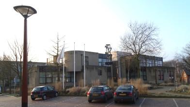 Het gemeentehuis in Tubbergen