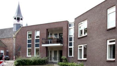 Het appartementencomplex Brokelman