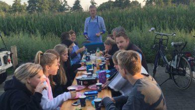Eieren met spek voor Tubbergse kampeerders