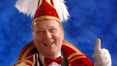 Arnold Koopman als carnavalsprins