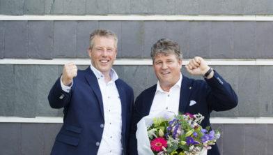 Hans en Gerard Haarhuis