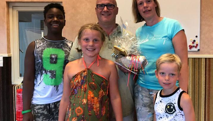 Marcel van Nieuwland en zijn gezin