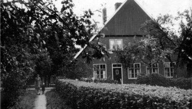 Boerderij van de familie Krikhaar-Bouwscholte
