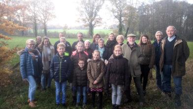 Bewoners van de Hanstiehook in Hezingen
